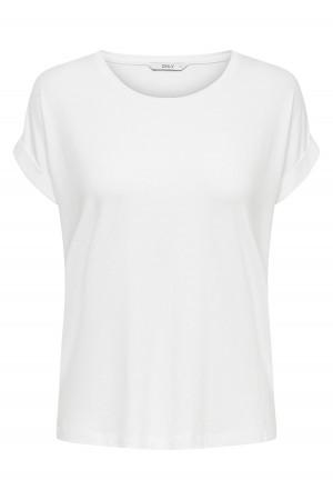 T-shirt uni ample à manches courtes MOSTER Only