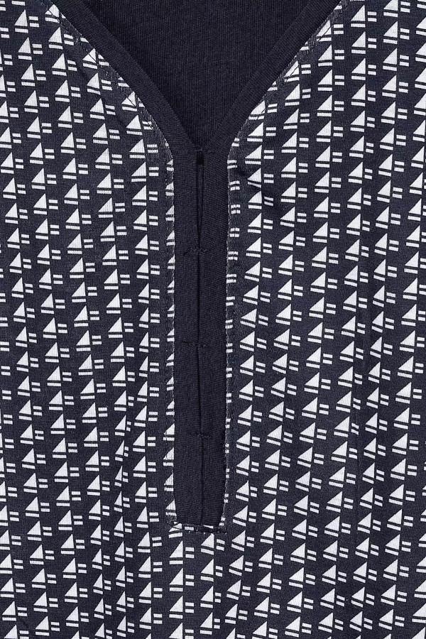 T-shirt imprimé minimaliste manches courtes Cecil