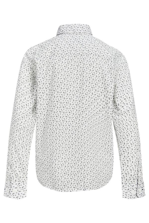 Chemise imprimée minimaliste en coton LUIS Jack & Jones