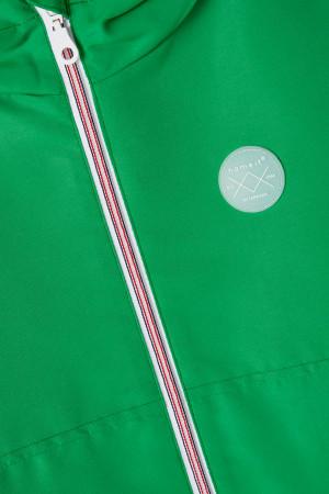 Veste unie à capuche avec badge poitrine et poches Name It