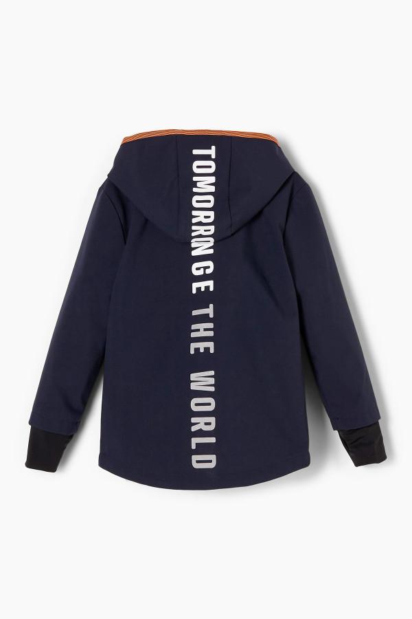 Veste à capuche inscriptions imprimées au dos S.Oliver