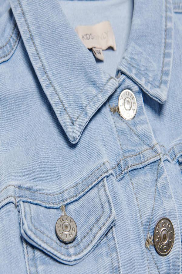 Veste en jean délavée manches longues SARA Only kids
