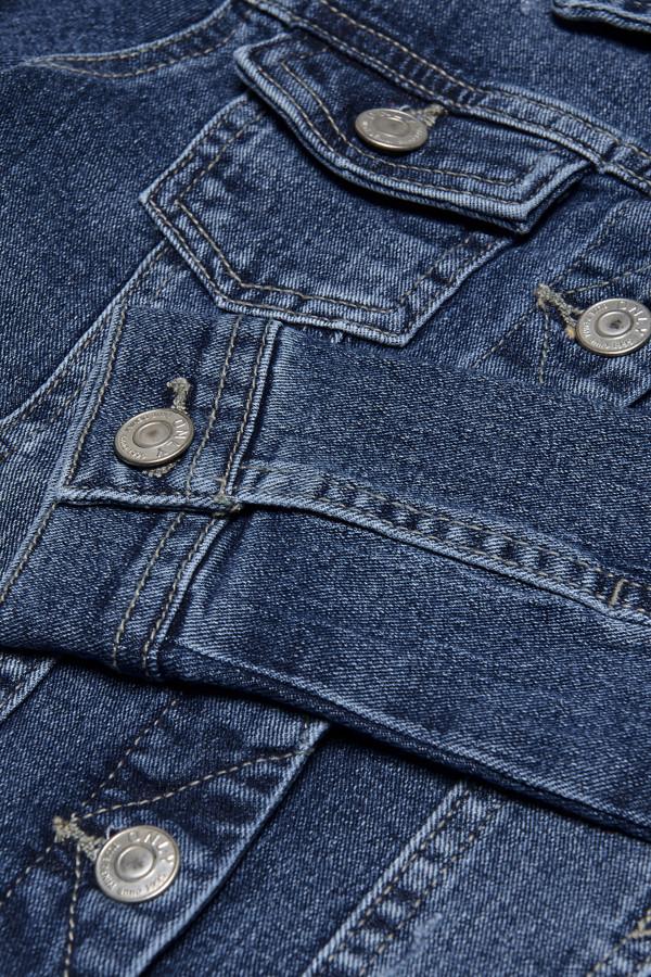 Veste en jean délavée SARA BLUE Only Kids Fille