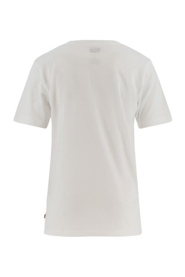 T-shirt en coton logo imprimé devant Levi's