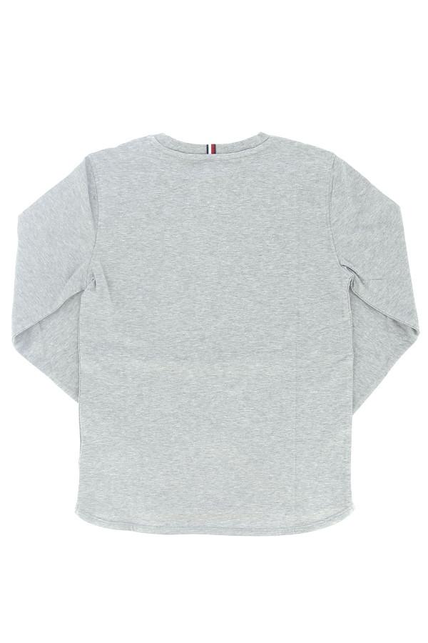 T-shirt uni basique avec logo devant Tommy Hilfiger