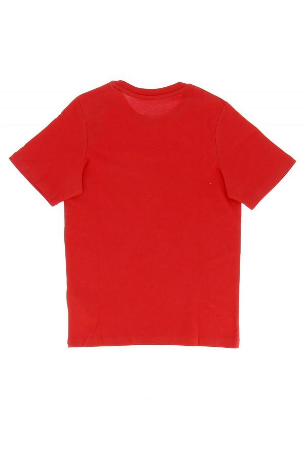 T-shirt en coton imprimé à l'avant LOGO Jack & Jones