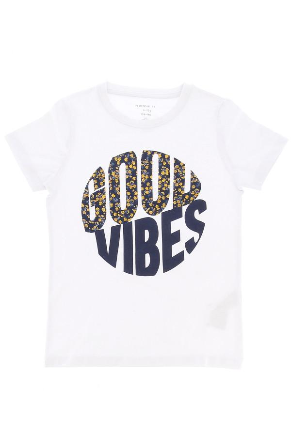 T-shirt en coton avec impression devant Name It