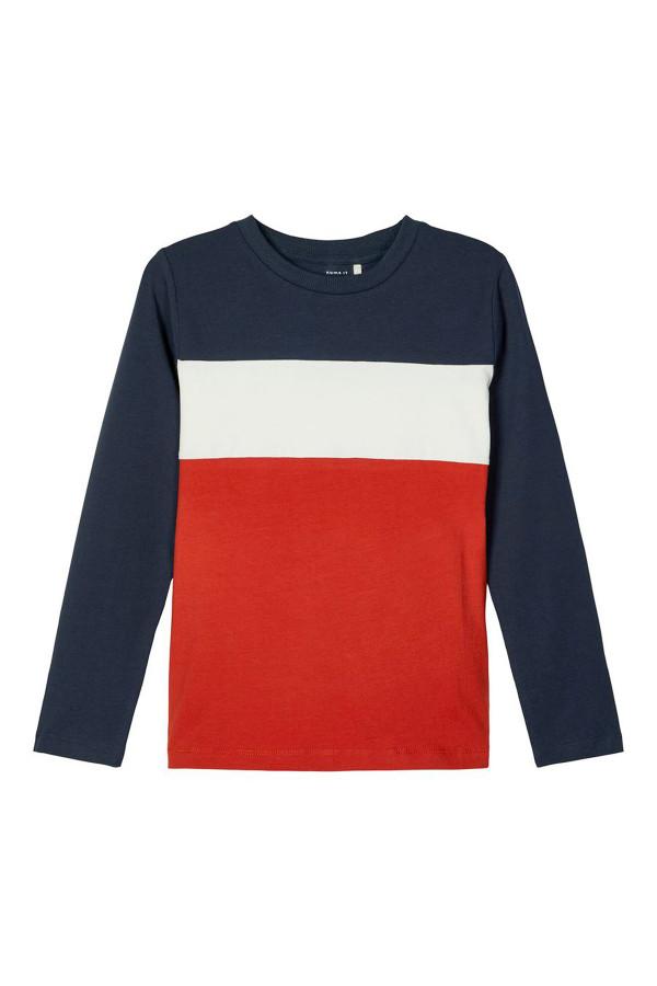 T-shirt tricolore en coton stretch SAKUT Name It