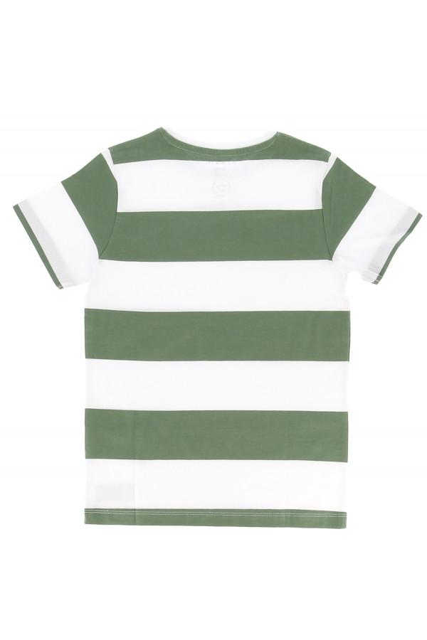 T-shirt rayé bicolore en coton Name It