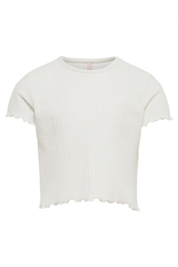 T-shirt court uni manches courtes NELIA Only kids