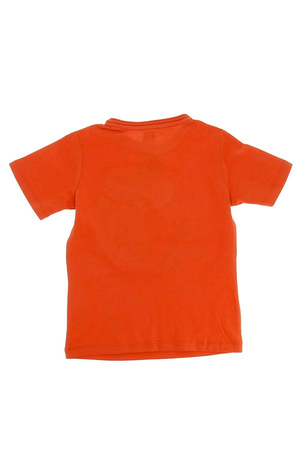 T-shirt uni en coton avec pastilles devant S.Oliver