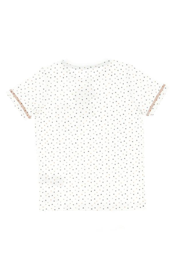 T-shirt uni en coton avec poche poitrine TRUMAN Name It
