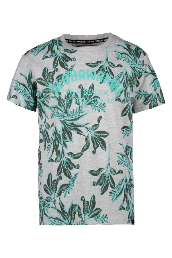 T-shirt en coton imprimé feuillage Cars Jeans