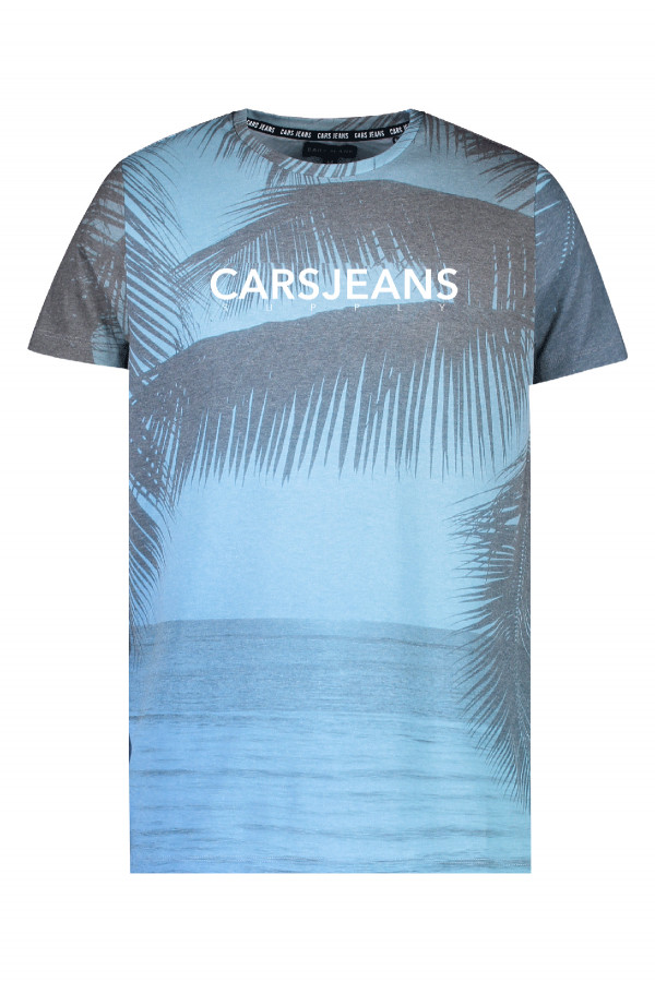 T-shirt imprimé avec logo Cars Jeans