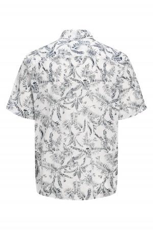 Chemise en coton imprimé feuillage ELRON Jack & Jones
