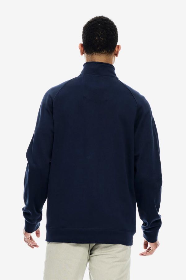 Cardigan uni zippé écusson à la poitrine poches devant Garcia