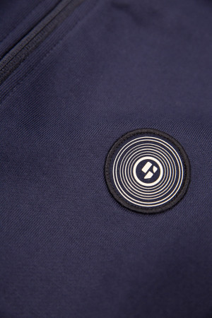 T-shirt blanc en coton avec logo poitrine Levi's