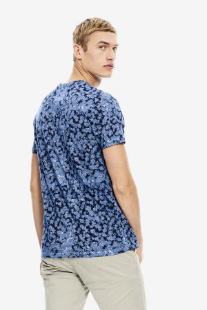 T-shirt imprimé sur l'ensemble en coton Garcia