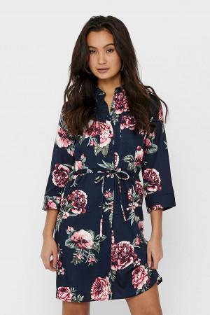 Robe chemise courtes imprimée fleuri ou rayé TAMARI Only