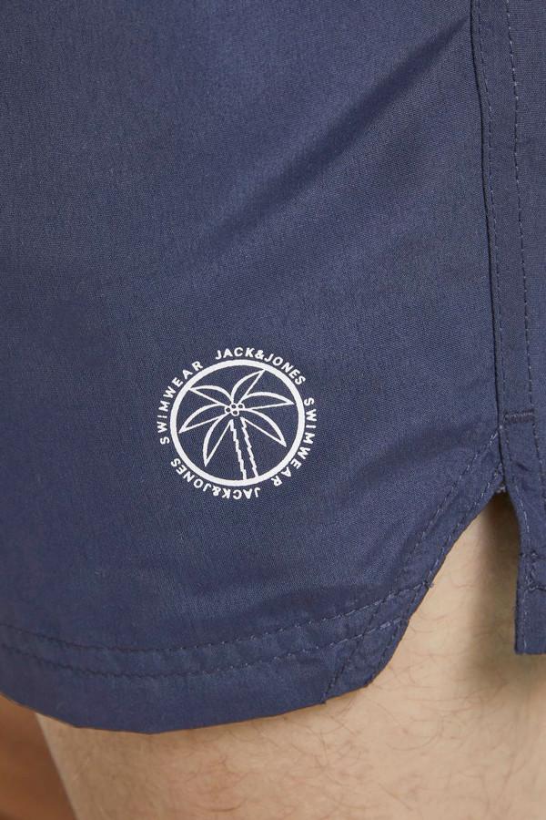 Short maillot uni taille élastique avec poches BALI Jack & Jones