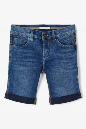 Bermuda en jean revers aux jambes SOFU Name It