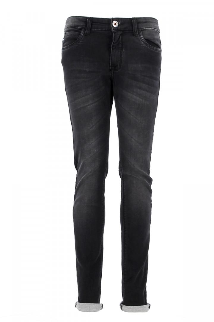 Pantalon noir taille haute avec ceinture Eva Vero Moda