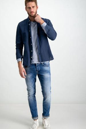 Jean Slim fit bleu délavé SAVIO Garcia