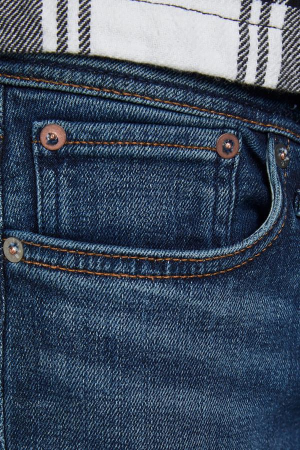 Jean denim coupe slim fit stretch modèle Glenn Jack & Jones