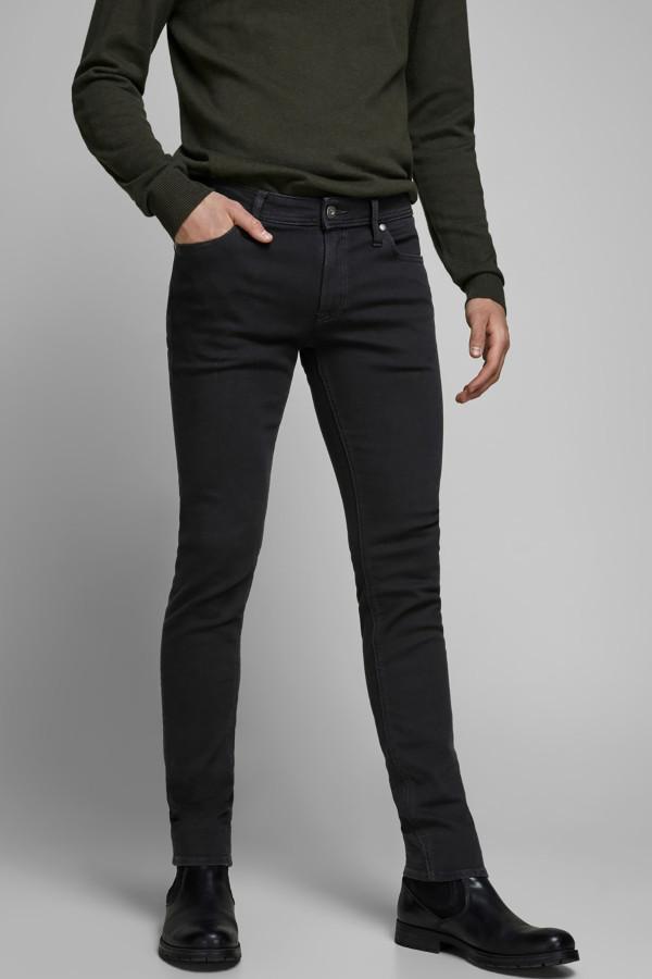 Jean noir skinny stretch LIAM Jack & Jones