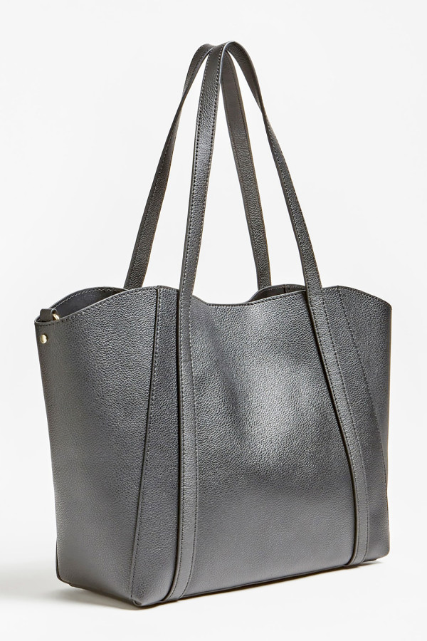 Grand sac uni en similicuir avec pochette interne NAYA Guess