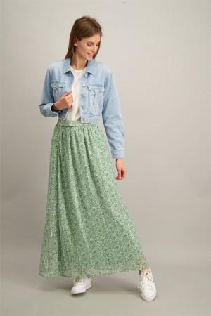 Veste en jean délavée poches poitrine BLANCA Vila