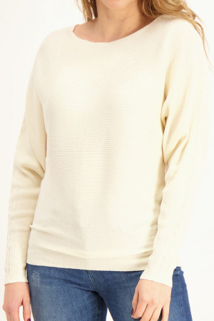 Pull ample en maille fine unie S. Oliver