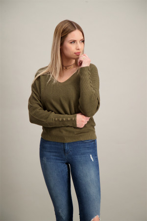 Cardigan mi-long structuré Naja V Neck Ls Vila