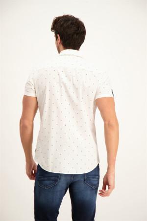 Chemise imprimée minimaliste manches courtes en coton MARS Jack & Jones