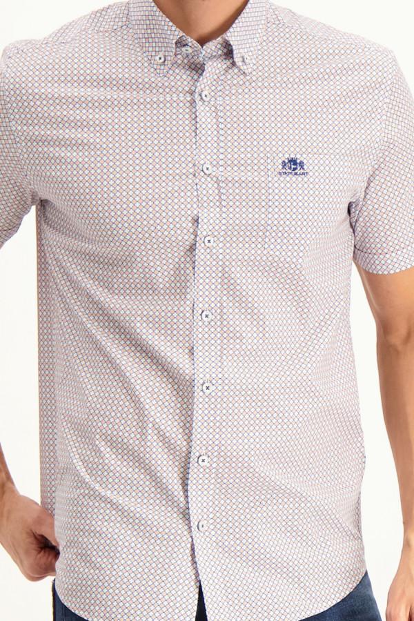 T-shirt manches longues avec impression devant Street One