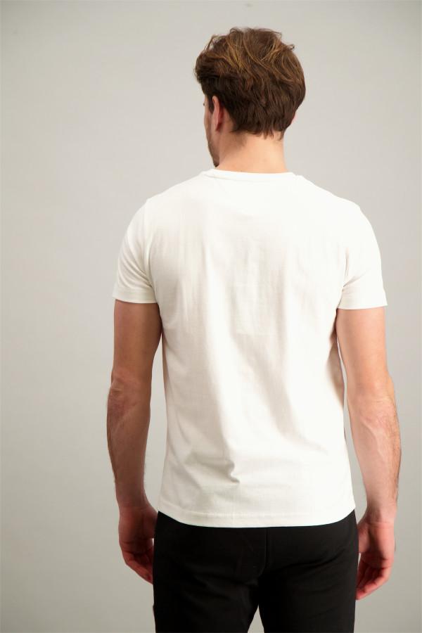 664bdcaabe74 T-shirt uni avec sequins et perles Jinne Communion CKS