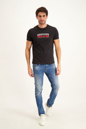 T-shirt uni imprimé devant Timon Name It