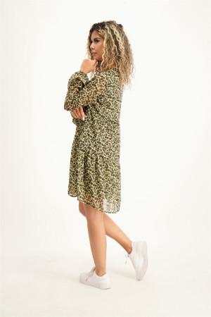 Robe courte ample imprimée sur l'ensemble LILO Vero Moda