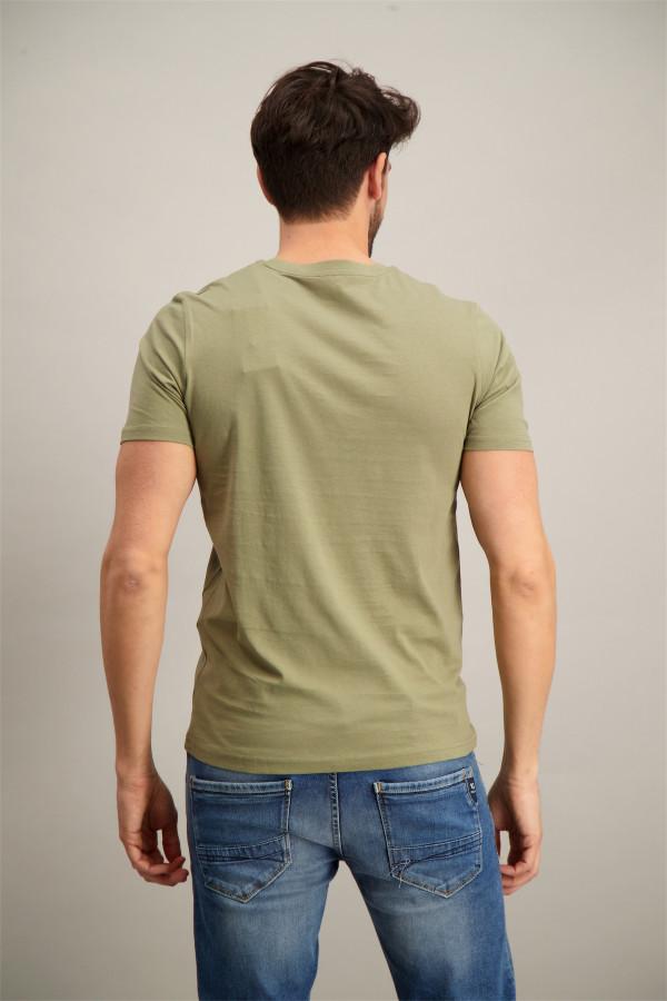 T-shirt en coton avec impression à l'avant Jack & Jones