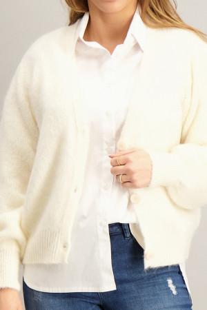 Pull ample en fine maille avec lurex KINA Orfeo