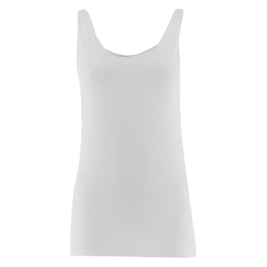 Top uni basique en coton stretch MAXI Vero Moda