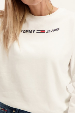Pull uni décontracté avec logo devant Tommy Hilfiger