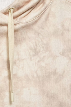 Sweat à capuche imprimé tie and dye manches longues Street One