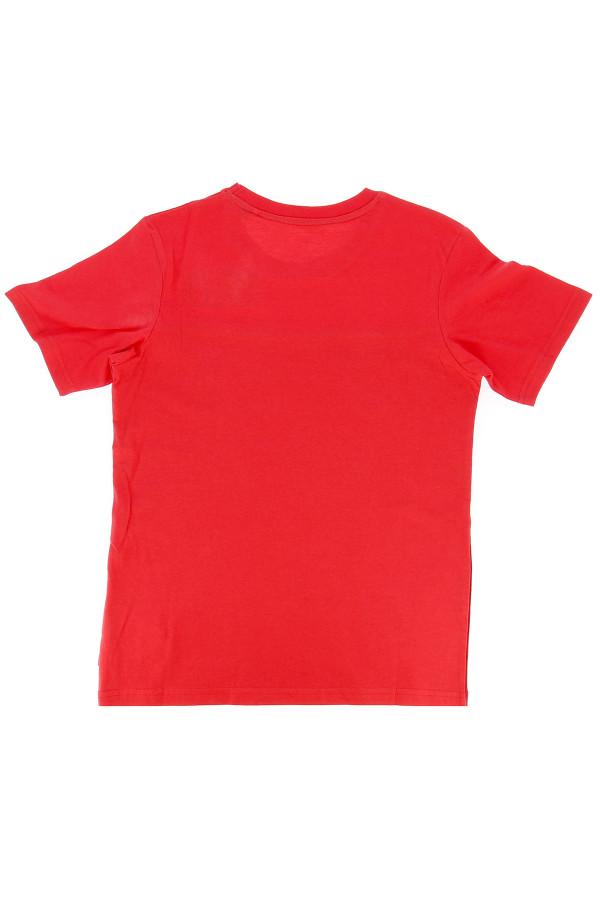 T-shirt bicolore en coton avec logo devant STALLEY Jack & Jones