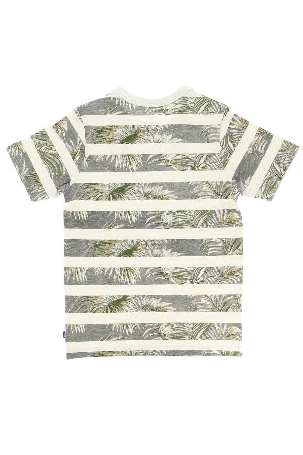 T-shirt manches courtes imprimé rayé Jack & Jones