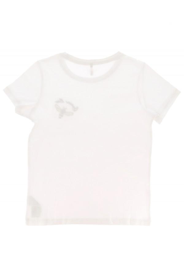 T-shirt uni ou imprimé avec broderie en coton KITA Only Kids
