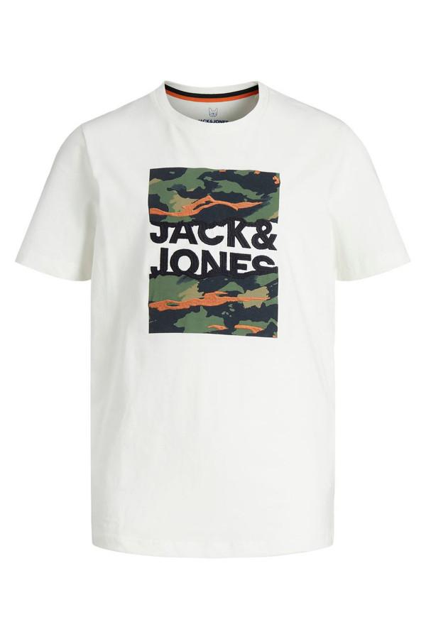 T-shirt avec impression et logo devant en coton CAMERON Jack & Jones