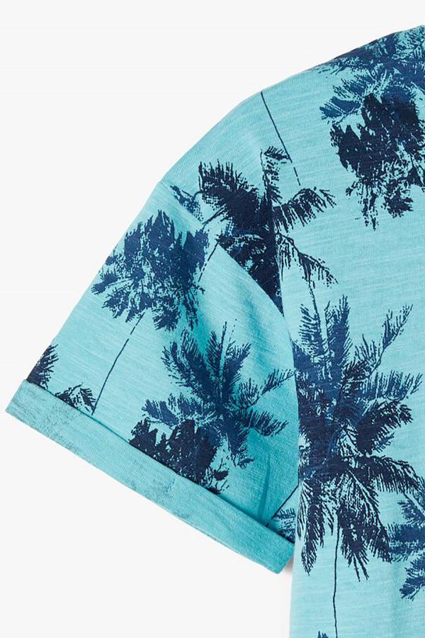 T-shirt imprimé sur l'ensemble en coton VALTHER Jack & Jones