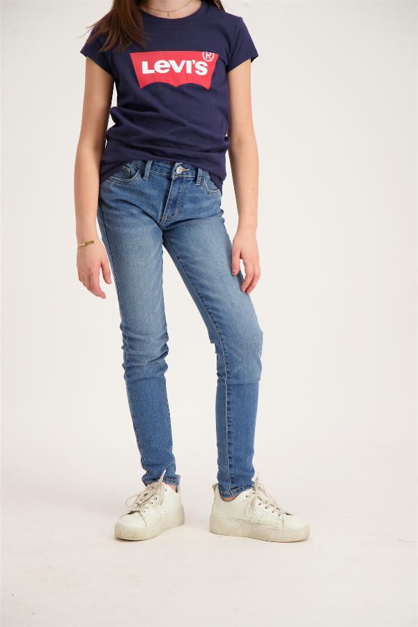 Jean skinny délavé modèle 5 poches Levi's