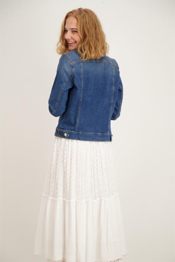 Veste en jean basique avec poches Tommy Hilfiger